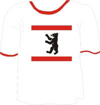 T-Shirt Berliner Flagge
