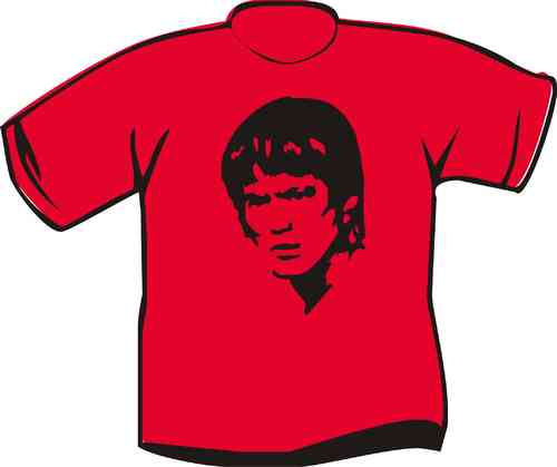 T-Shirt Bruce Lee Kopf
