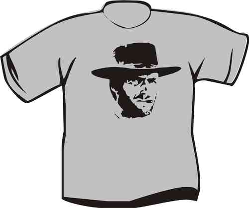 T-Shirt Clint Eastwood Hut