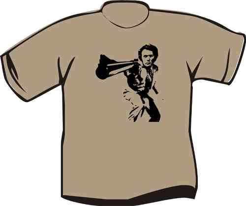 T-Shirt Clint Eastwood Dirty Harry