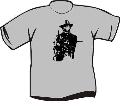 T-Shirt Clint Eastwood Uniform