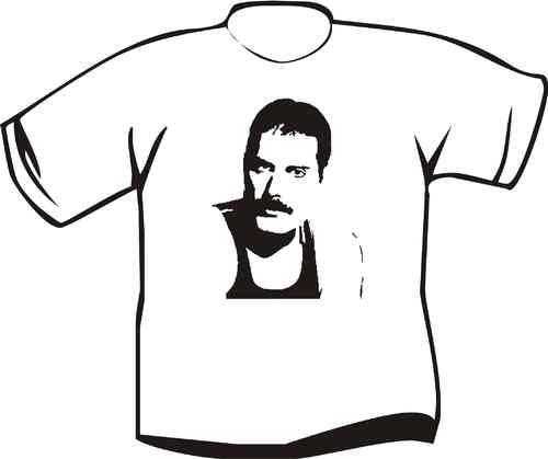 T-Shirt Freddy Mercury