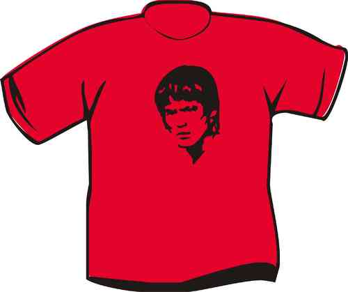 Kinder T-Shirt Bruce Lee Kopf