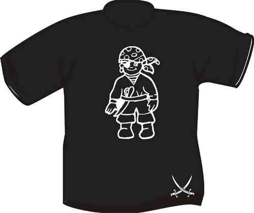 Kinder T-Shirt Piratenjunge