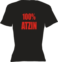 T-Shirt Lady Crew-Neck   100% Atzin