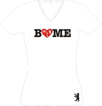 T-Shirt Lady V-Neck   Berlin love Me