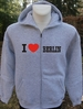 Kapuzen-Jacket   -I love Berlin-